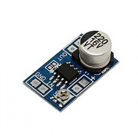 مینی آمپلی فایر LM386 با قابلیت تنظیم گین Gain Mini Amplifier LM386