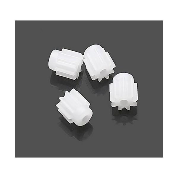 پک 4 عددی چرخ دنده پلاستیکی پهپاد X5C مخصوص موتور با 9 دندانه Syma X5C