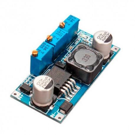 ماژول کاهنده ولتاژ و جریان LM2596 کنترل شارژ باتری لیتیوم یون با قابلیت تنظیم نقطه قطع Li-Ion Charger Module LM2596