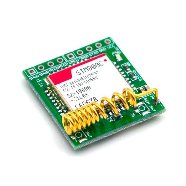 ماژول سیم کارت GSM Sim800C با آنتن اسپینینگ