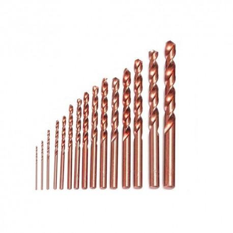 پک مته 15 عددی از سایز 0.3mm تا 3mm مخصوص سه نظام