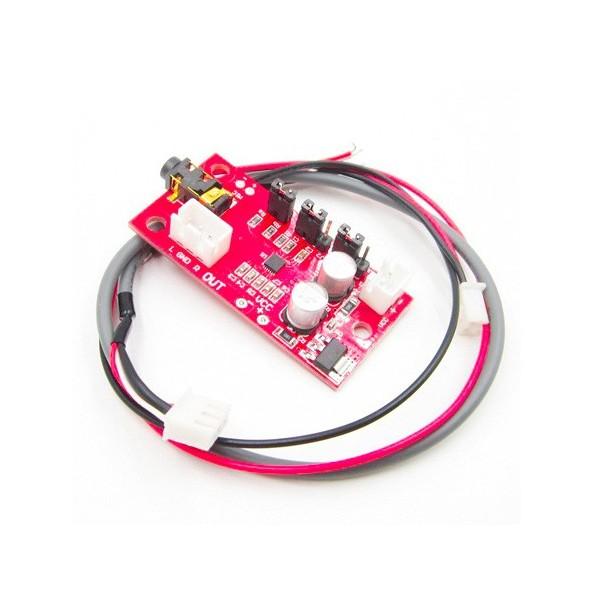 ماژول تقویت کننده میکروفن MAX9814 با گین قابل تنظیم