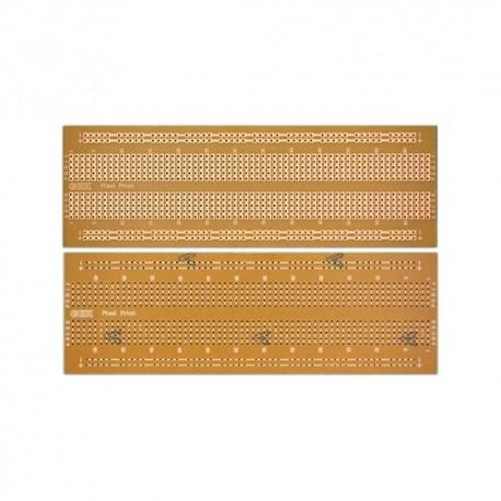 فیبر فنول سوراخ دار 840 نقطه ای طرح برد برد استخوانی برند PCBIRAN