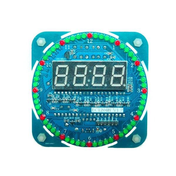 کیت نمایشگر ساعت با سگمنت و تاریخ و دما با تراشه DS1302