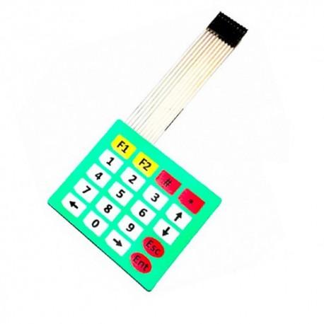 کیپد فلت 20 پایه ماشین حسابی Flat Keypad