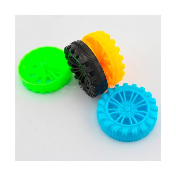 چرخ پلاستیکی 45 میلی متر مناسب ساخت ربات کاردستی