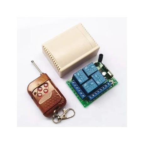 گیرنده چهار کانال رادیویی 315 MHz | دانشجو کیت