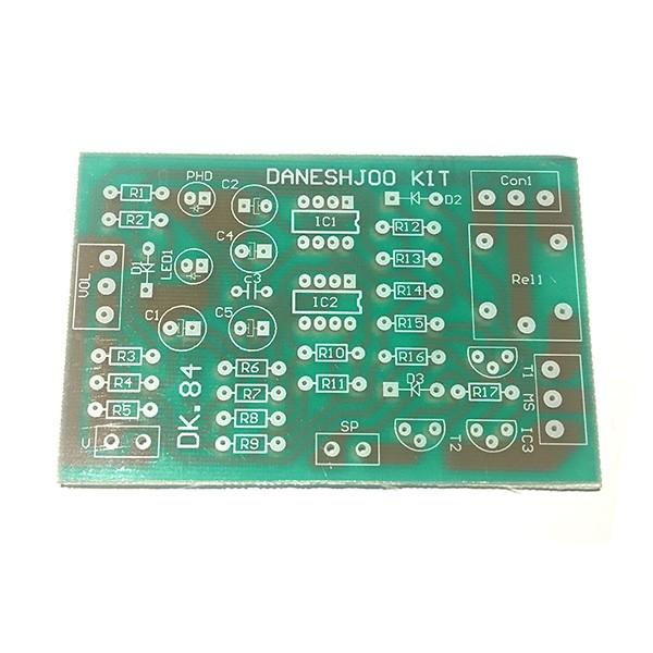 برد PCB کیت چشم الکترونیک با قابلیت نصب رله میلون