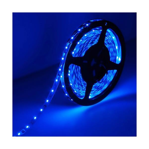 ال ای دی LED نواری آبی 3528 TFS 12V با 30 LED در متر و روکش ضد آب