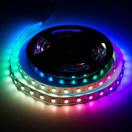 ال ای دی LED نواری RGB درشت 5050 ژلاتینی با نوار برچسب 60 lED در متر