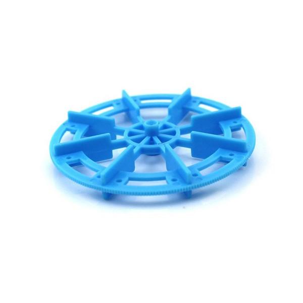 چرخ پروانهای با قطر 70 میلی متر مناسب موتور گیربکس زرد