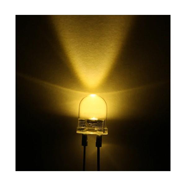 ال ای دی 10 میلی متر آفتابی HG LED 10mm W18 nm