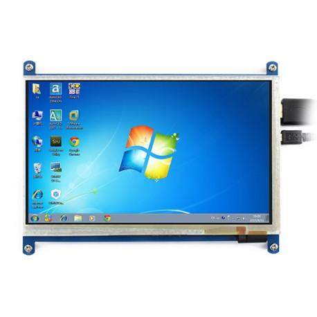 ماژول LCD نمایشگر lcd 7 اینچ Waveshare با پورت 7inch HDMI LCD B با کابل