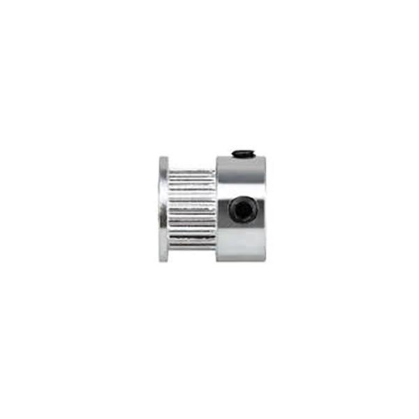 پولی تایم 30 دنده 2GT با قطر 5mm و آچار تنظیم شافت