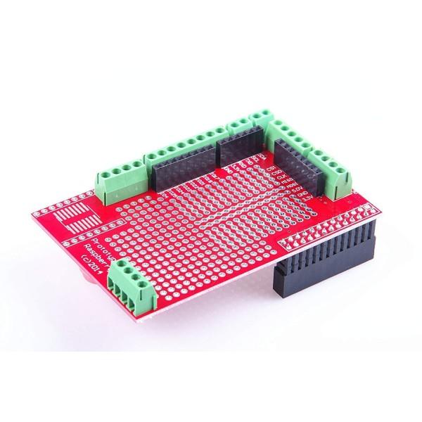 شیلد پروتوتایپ رزبری پای Raspberry Pi Prototype Shield