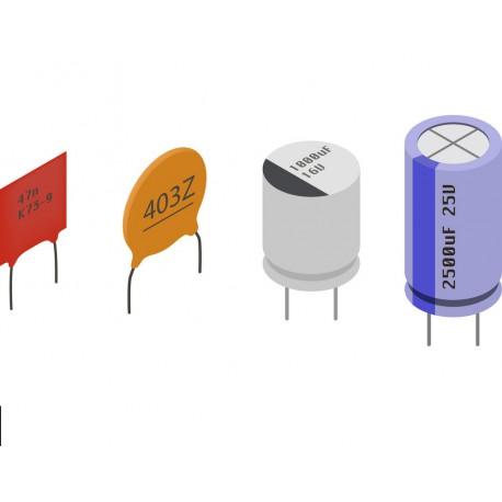 کیت خازن Capacitor kit مناسب آردوینو Arduino