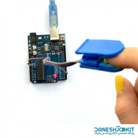 گیره 3D print مخصوص سنسور ضربان قلب