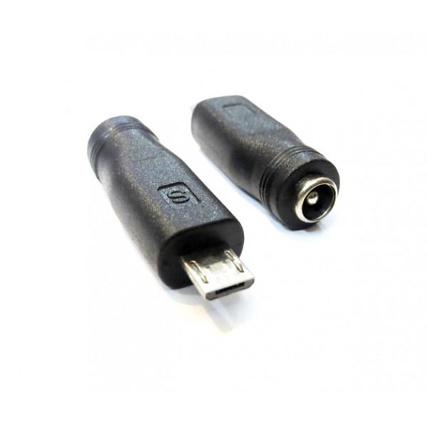 مبدل فیش آداپتور 5 ولت به Micro USB