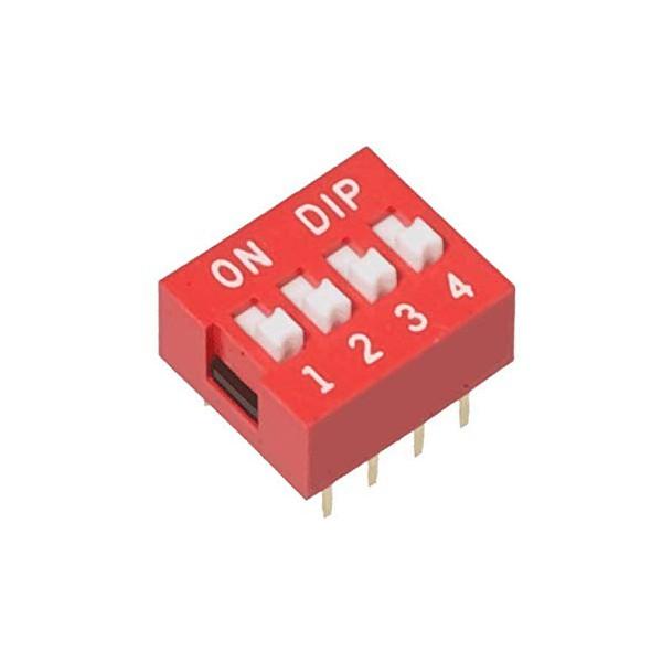 دیپ سوییچ 4 تایی Dip Switch 4 way