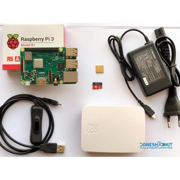 کیت رزبری پای +Raspberry Pi 3 B بی پلاس