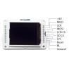نمایشگر LCD 1.8 بردهای آردوینو Esplora TFT LCD درایور ST7735 رابط SPI