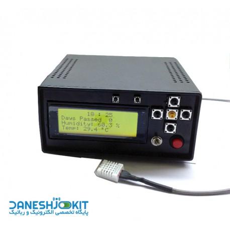 برد کنترل دستگاه جوجه کشی با قابلیت برنامه ریزی