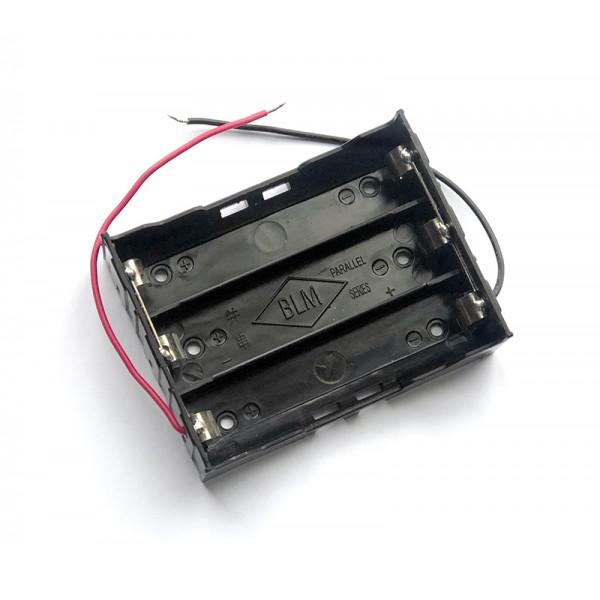 جاباتری 3 تایی مخصوص ساخت پاور بانک باتری لیتیوم یون 18650 مدل BLOSSOM