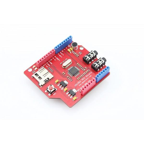 شیلد MP3 مدل VS1053 دارای رابط کارت خوان و خروجی استریو و هدفون