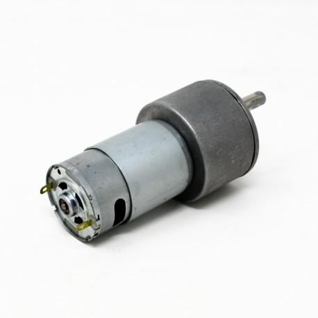 موتور 37GB180 گیربکس دار 180 دور استوک با طول شافت 20 میلی متر