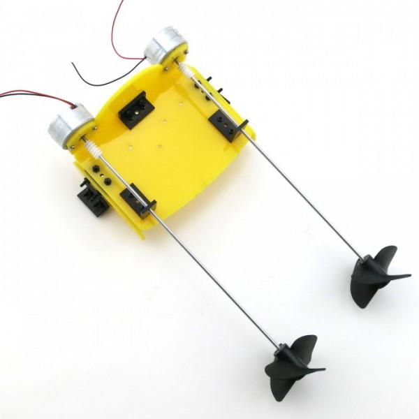 پک لوازم جانبی ساخت قایق دو موتوره همراه با دفترچه ساخت