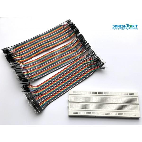 پک برد بورد و کابل Breadboard cable pack