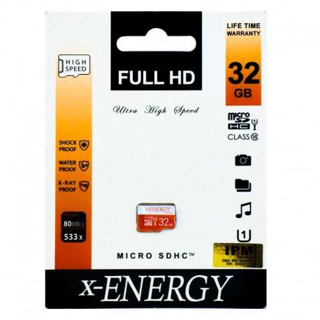 مموری 32 گیگ X-ENERGY Micro SD