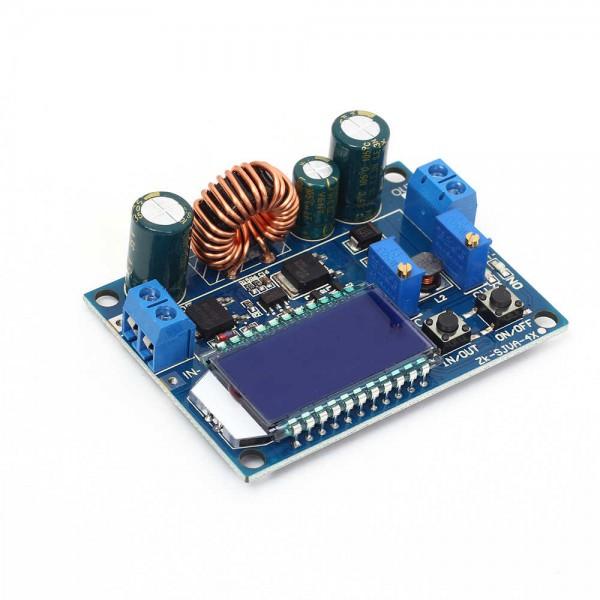 ماژول نمایشگر ولتاژ و جریان 35 وات 5.5 - 30 تا 0.5 - 30 ولت 4 آمپر