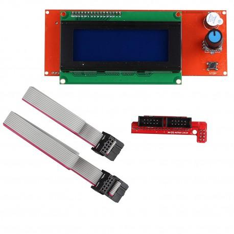 ماژول LCD نمایشگر LCD 128*64 هوشمند پرینتر سه بعدی آردوینو RepRap LCD Shield Arduino