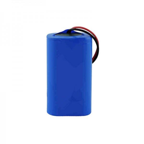پک باتری 18650 لیتیوم یونی 2 سل با ظرفیت 2200 میلی آمپر به همراه کنترل شارژ