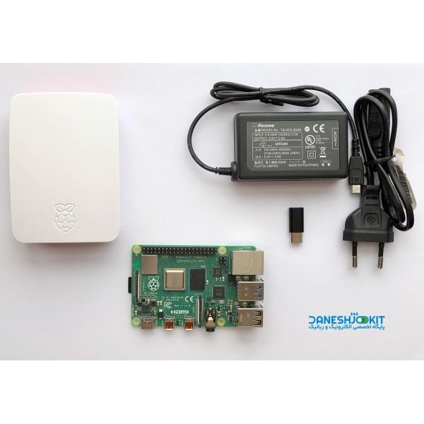 پک رزبری پای Raspberry Pi 4 حافظه 2 گیگ