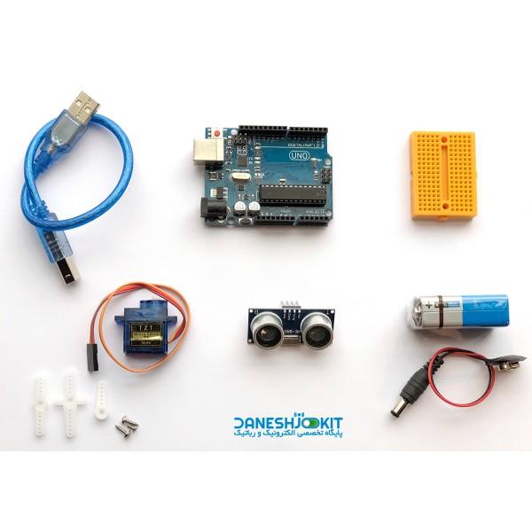کیت مایع ریز اتوماتیک کیت کرونا بر پایه آردوینو Arduino