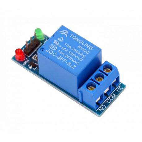 ماژول رله تک کانال Relay Module 5V برند TONGLING