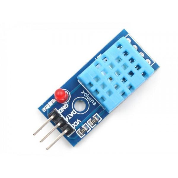 ماژول سنسور دما و رطوبت DHT11 با ال ای دی