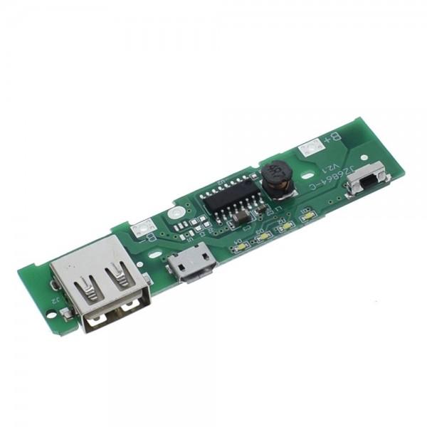 ماژول پاور بانک Power bank تک کانال ولتاژ 5 ولت 1.5 آمپر مدل 864-KC
