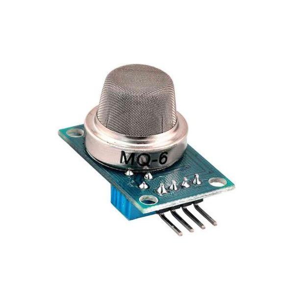 ماژول سنسور گاز MQ-6 تشخیص گاز ایزو بوتان، LPG و پروپان