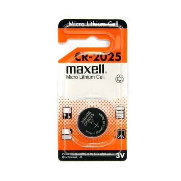 باتری سکهای CR2025 مکسل Maxell ولتاژ 3V