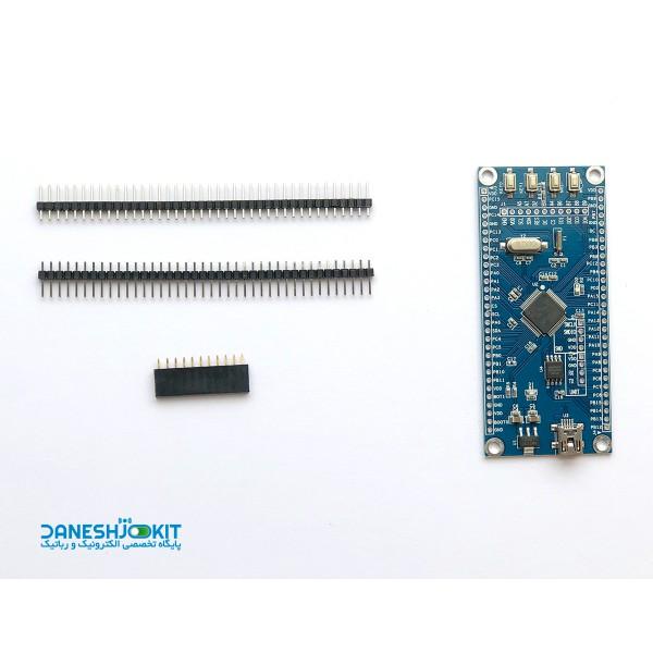 برد STM32F105RC بر پایه پردازنده ARM Cortex - M3 - 32bit
