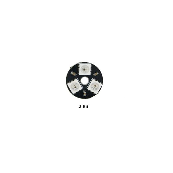حلقه ال ای دی 3 تایی 3BIT LED RGB RING