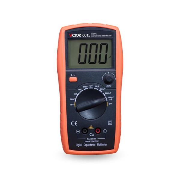 مولتی متر خازن دیجیتال Digital Capacitance Multimeter VICTOR 6013