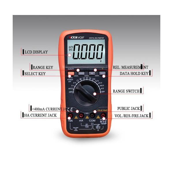 مولتی متر دیجیتال Digital Multimeter VC97