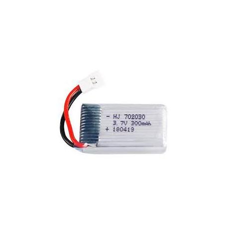 باتری لیتیوم پلیمر Li-Po مخصوص پهپاد 3.7V 300mAh Battery ابعاد 18X30X5mm