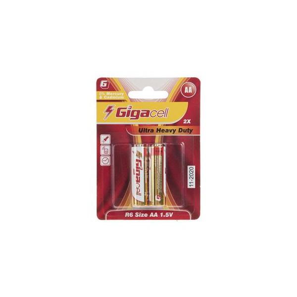 باتری قلمی برند گیگاسل Gigacell 2X AA