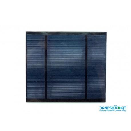 سلول خورشیدی 5.5 ولت 400 میلی آمپر با ابعاد 130*115