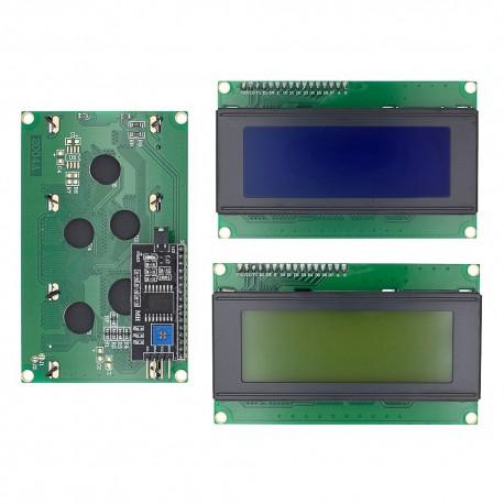 نمایشگر LCD I2C با ابعاد 20X4 دارای رابط I2C